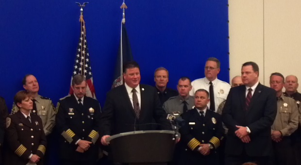 Press Conference - Police & Sheriffs